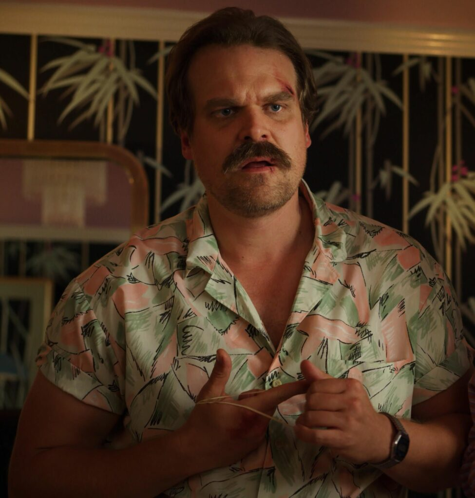 prezzo.it, camicia hawaiana, stranger things, sceriffo hopper