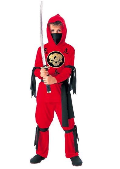 costume da ninja