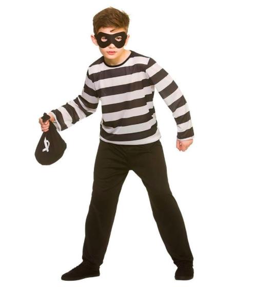 costume da ladro halloween