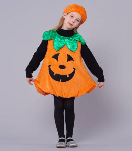 costume da zucca halloween