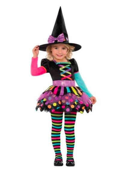 streghetta multicolor halloween