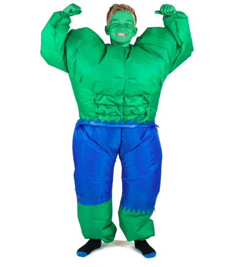 costume gonfiabile Hulk