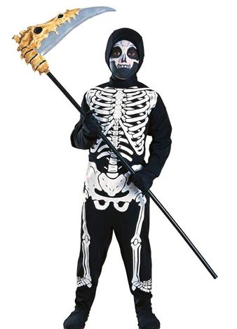 costume scheletro bimbo