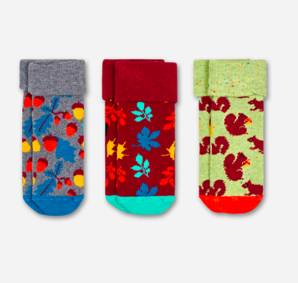 forest gift box happy socks