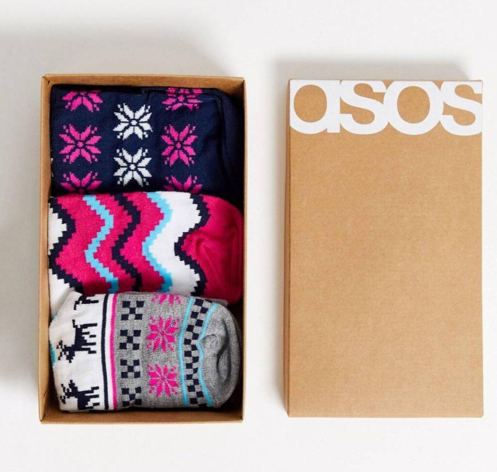 calzini natalizi asos