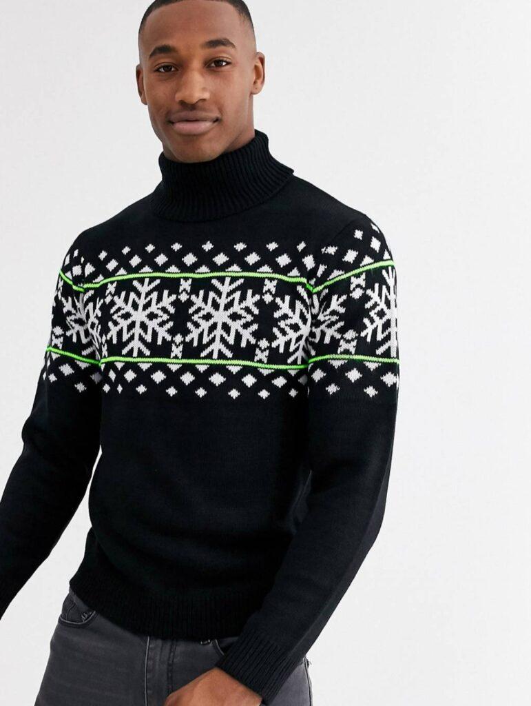 maglione uomo natalizio